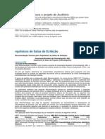Normas ABNT para o projeto de Auditório