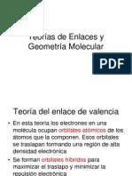 Teorias de Enlaces y Geometría Molecular