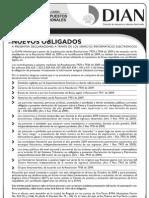 Nuevos Obligados a Presentar Declaraciones a Traves de Los Servicios informaticos de La Dian