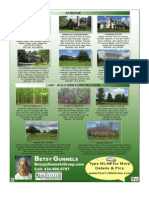 Betsy Gunnels Real Estate Preview Ad November 2009