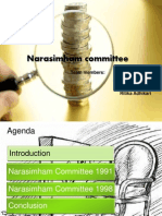 Narasimham Committee