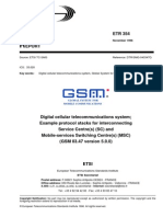 ETSI TS 03.47 v 5.0.0 Protocols for Interconnecting SMSC and MSC