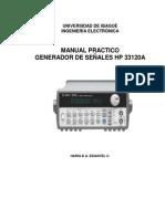 Manual Generador HP 33120A