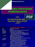Paradigma Pembangunan Desi Fernanda