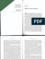 Applied Economics - Politics versus Economics