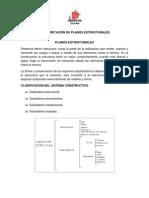 INTERPRETACI+ôN DE PLANOS ESTRUCTURALES