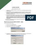 Instalacja-Rejestracja BeStCAD