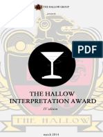 The Hallow Interpretation Award 2014