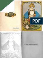 La Cocina Vegetariana Moderna - Ignacio Domenech (1923)