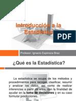 Unidad I - Introducción a la Estadística