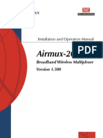 AirMux 200 User Manual