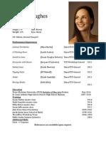 dance resume- pic