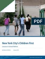 New York City's Children First