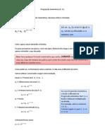 Progressão Geométrica (P. G.)