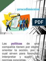 Politicas y Procedimientos