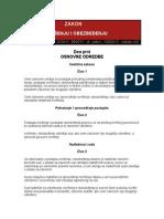 Закон о извршењу и обезбеђењу