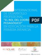 El Rol Del Coordinador Pedagogico