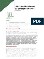 Virtualización simplificada con SUSE Linux Enterprise Server
