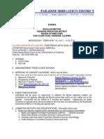 Agenda 2011-02-16