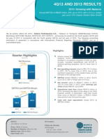 4Q13 and 2013 Earnings Release