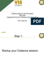 Cadence_setup