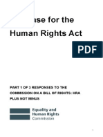 The Case for the Human Rights Act (1)
