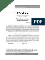 Carrasco -  Nietzsche y su visión del derecho penal.pdf