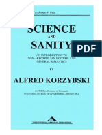 Science and Sanity - Alfred Korzybski