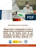 FAO Manejo de Bovinos y Leche