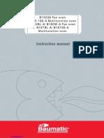 b152ss Instruction Manual