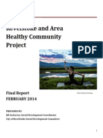 Revelstoke and Area Healthy Community Project