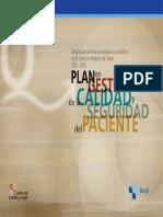 Plan en gestión de la calidad y seguridad del paciente