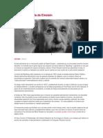 La teoría perdida de Einstein
