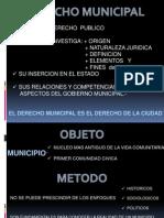 PresentaciA3n Derecho Municipal Unidad 10