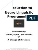 Nlp Intro Manual v1.0