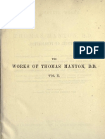 The Complete Works of Thomas Manton, D.D. Vol 10