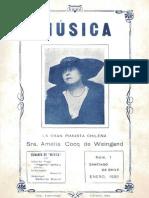 Revista Música N° 1, año I, Ene.1920