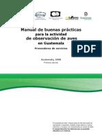 Manual de Buenas PracticasAVITURISMO