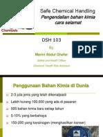 Safe Chemical Handling BM