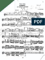 Britten - Violin Concerto (Violin)