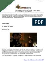 Guia Trucoteca Grand Theft Auto IV Xbox 360