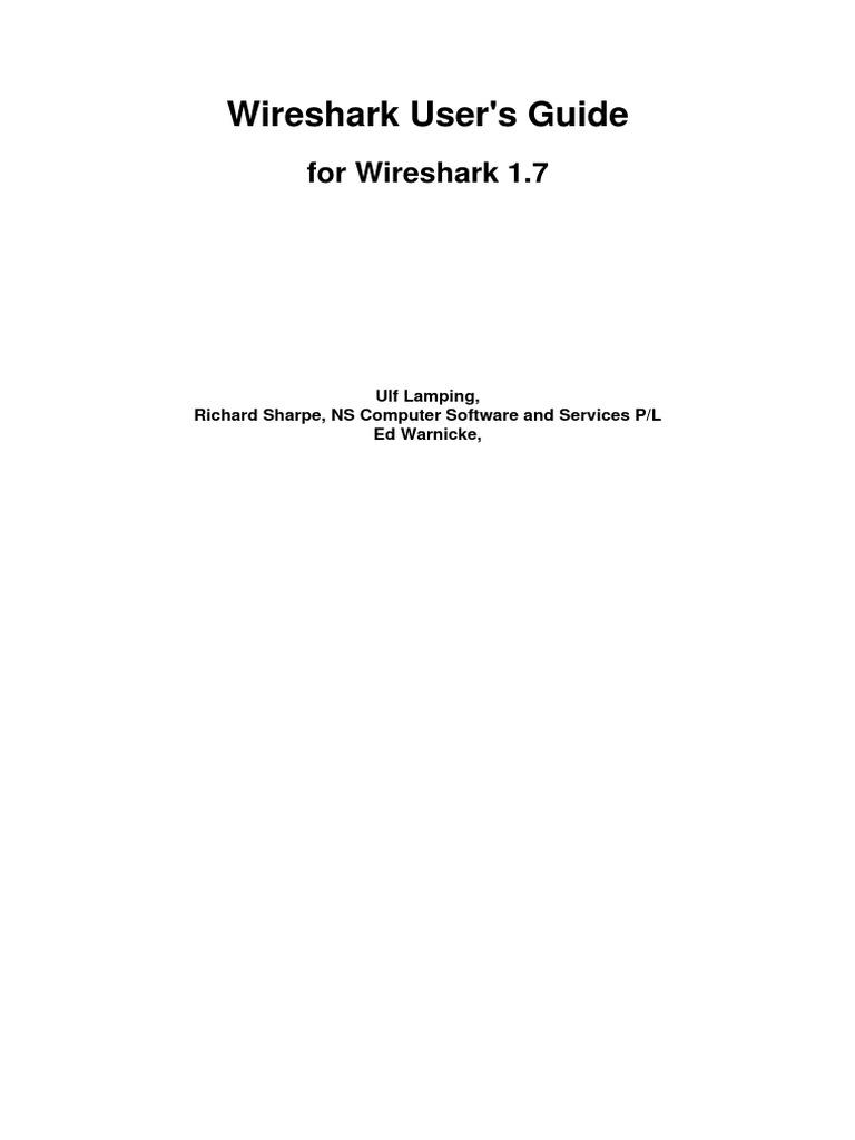 Wireshark User Guide | Linux | Computer Network