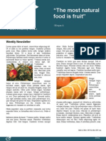 Weekly Newsletter Template (Word)