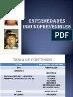 Diapositiva de Inmunoprevenibles