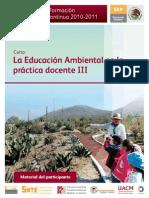 Educación ambiental en la práctica docente III