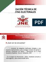 Fiscalización Tecnica de Encuestas elect. 08ago06