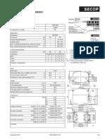 Compresor 104G 7550 Danfoss