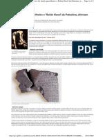 Davi foi chefe guerrilheiro e 'Robin Hood' da Palestina, afirmam arqueólogos