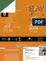 Programa Abril en Tarija 2014
