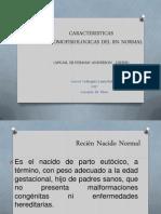 Caracteristicas Anatomofisiologicas Del Rn Normal